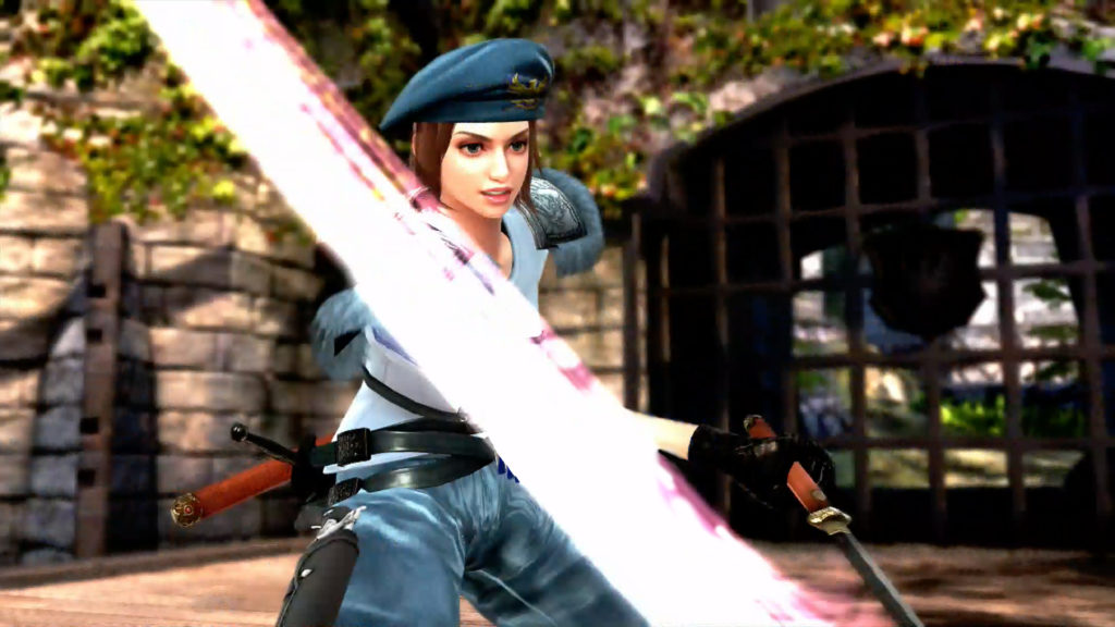 Jill Sword Slash