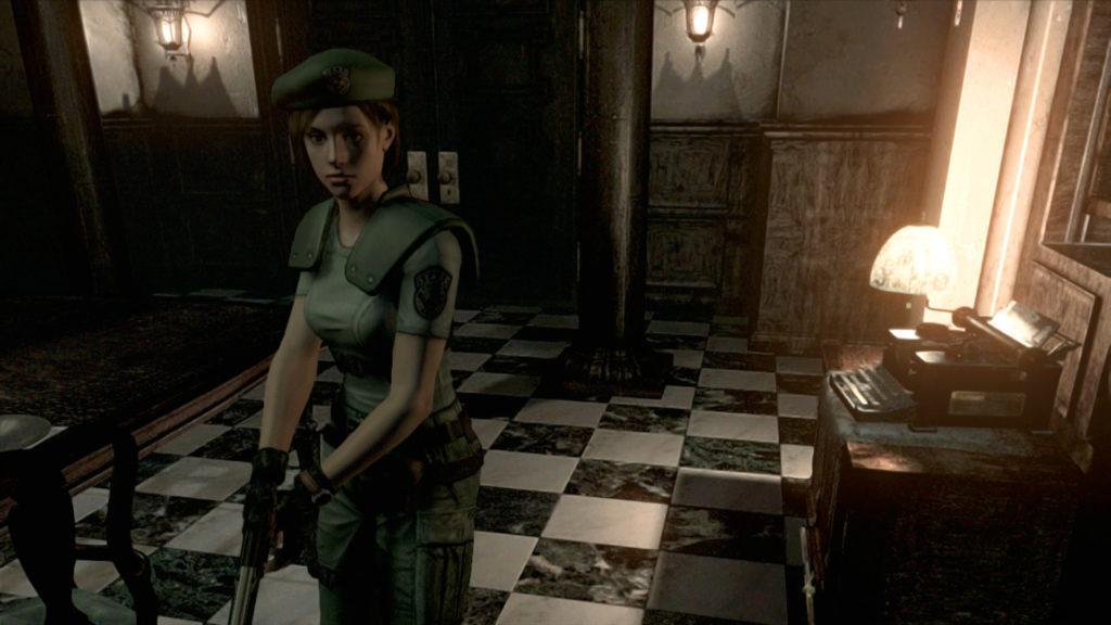 Jill in Resident Evil 1