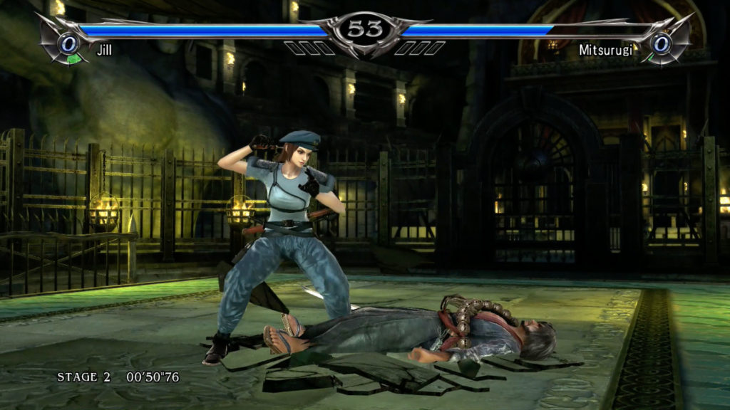 Jill Valentine in Soul Calibur 5