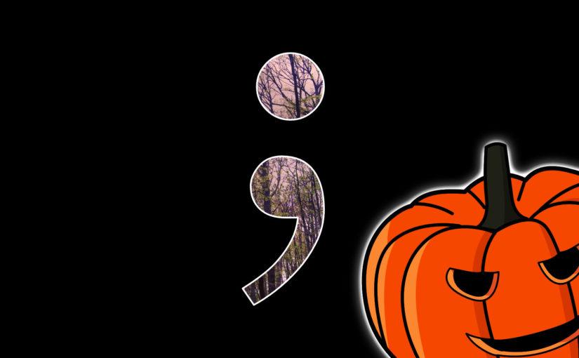 Semikolon Halloween