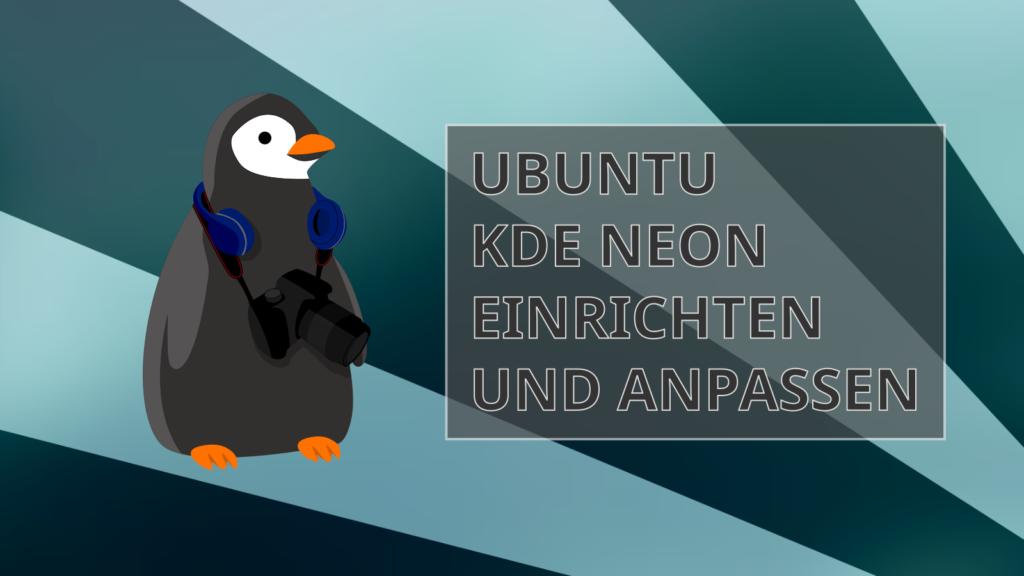 Linux KDE einrichten