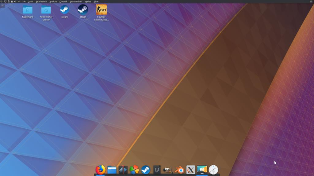 Desktop KDE Plasma