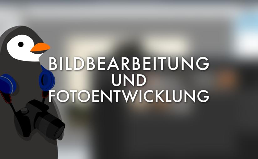 Bildbearbeitung: Darktable und GIMP